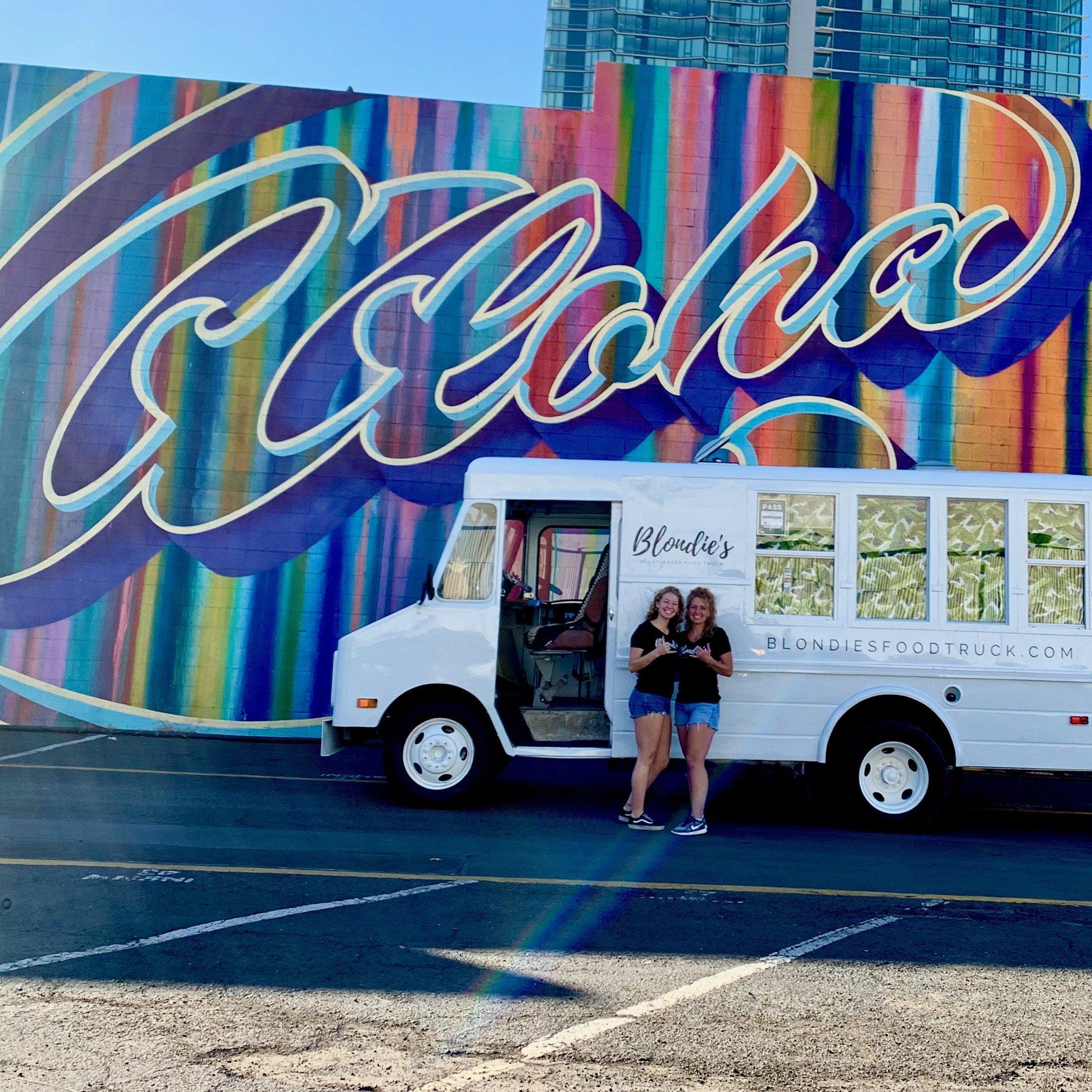 Hawaii Honolulu Waikiki FoodTruck Vegetarian Vegan