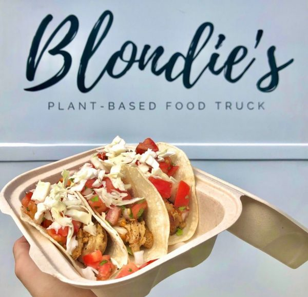 Blondie's Food Truck Vegan Plant-Based Food Honolulu Hawaii Tacos