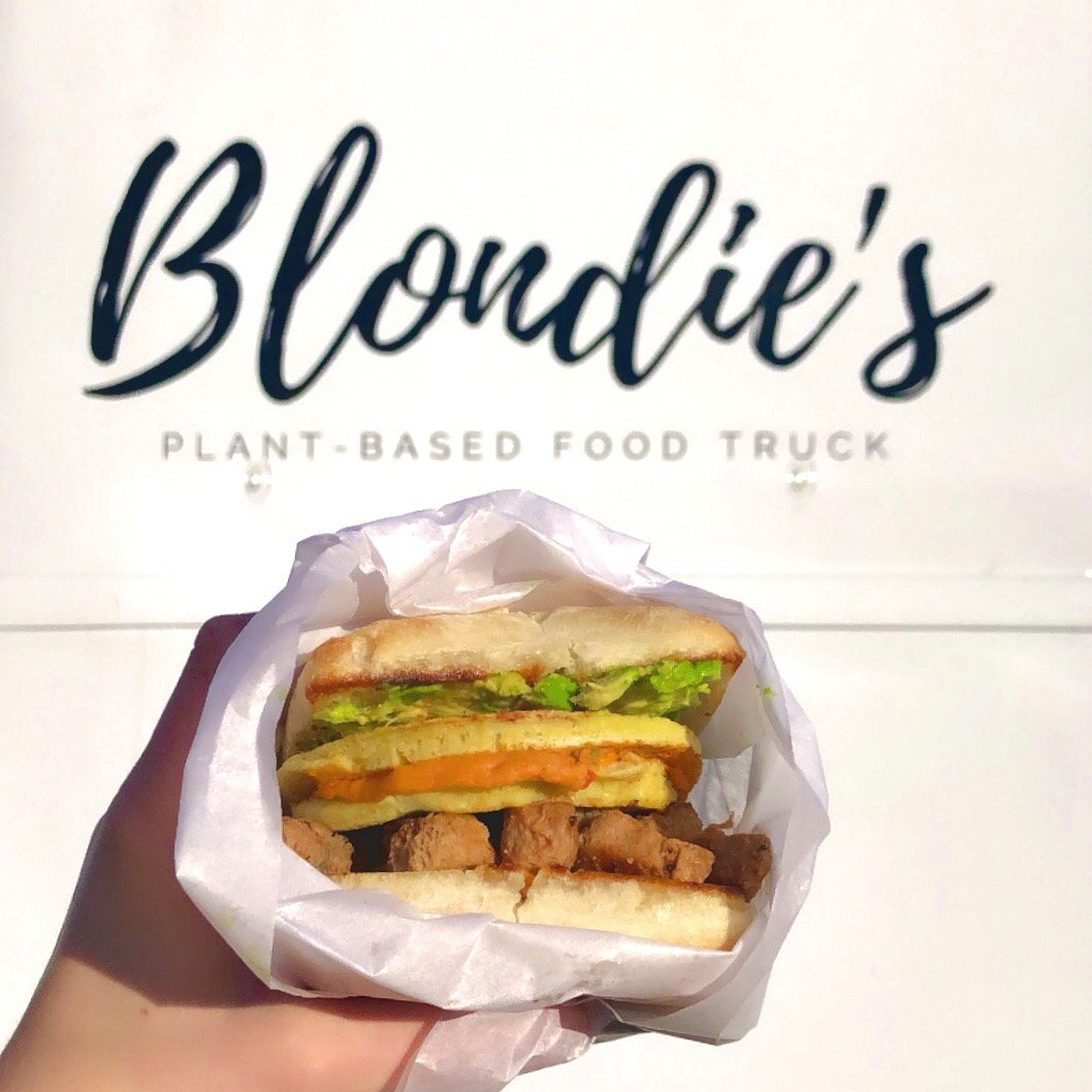 Blondie's Plant-Based Food Truck Vegan Iron Man Sandwich