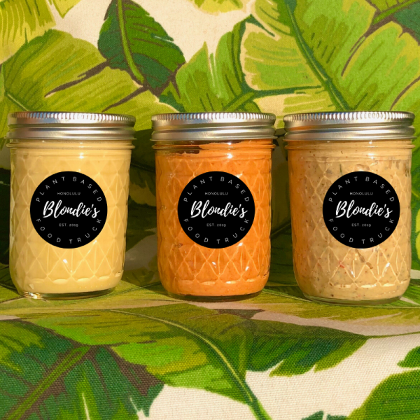 Blondie's Plant-Based Food Truck Honolulu Hawaii Vegan Foods