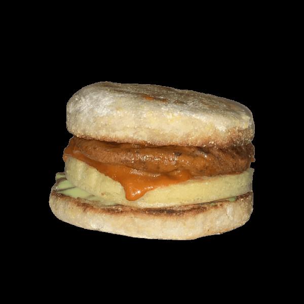 blondies vegan breakfast sandwich