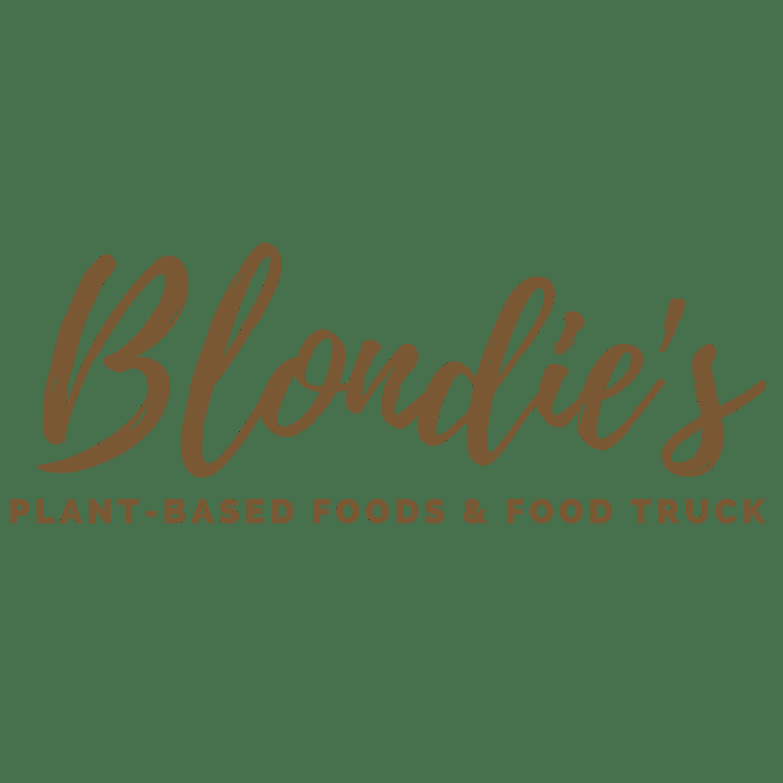 Blondie's Plant-Based Food Truck logo transparent background (1)