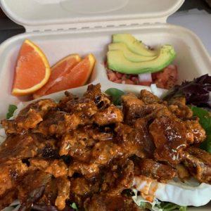 Blondies Vegan BBQ Chicken Protein Bowl (1)